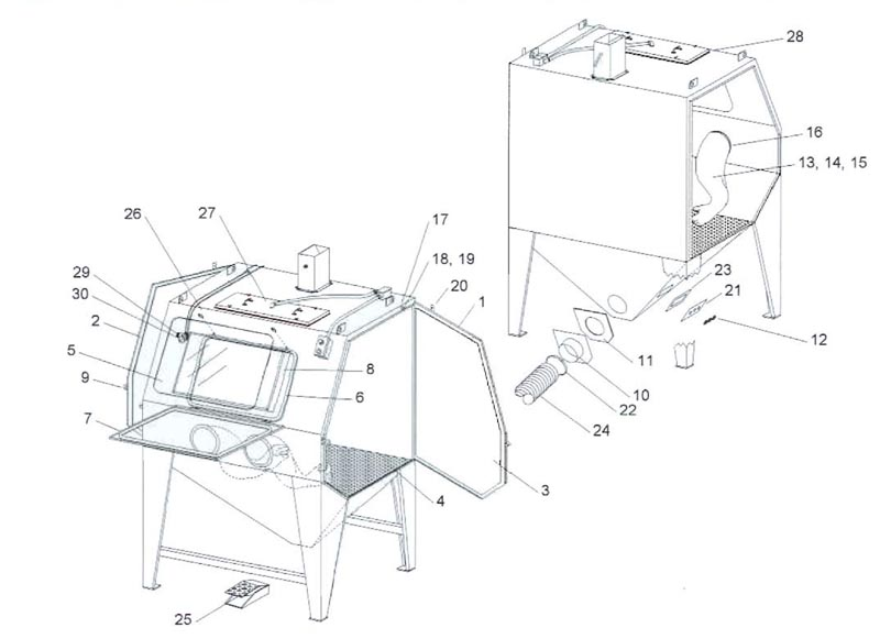 Pulsar IX Suction Cabinet Assembly On Precision Finishing