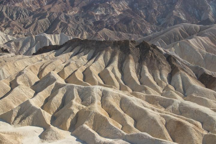 Death Valley rock formations, Zabriskie Point