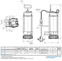12 Volt DC Battery Powered Submersible Pump On Springer