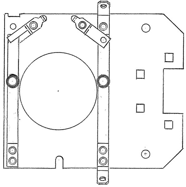 Item Number S-7045, 203 Bearing Stationary Switches On