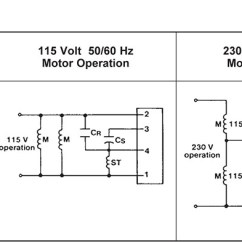 Ac Motor Run Capacitor Wiring Diagram Fios Tv Item Number Vr-40-165, Vr Series Switches For 115 Or 115/230 Voltage (vac) Dual ...