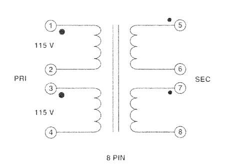 Item # FS16-150, PC Mount Split Pack™ Power Transformers