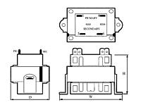 Item # TCT40-05E07AE, Class-2 Power Control Transformers