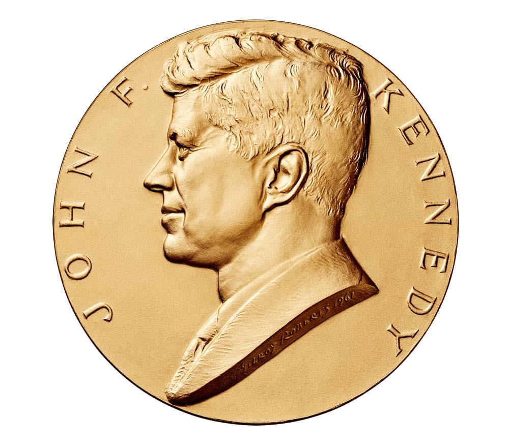 john f kennedy bronze