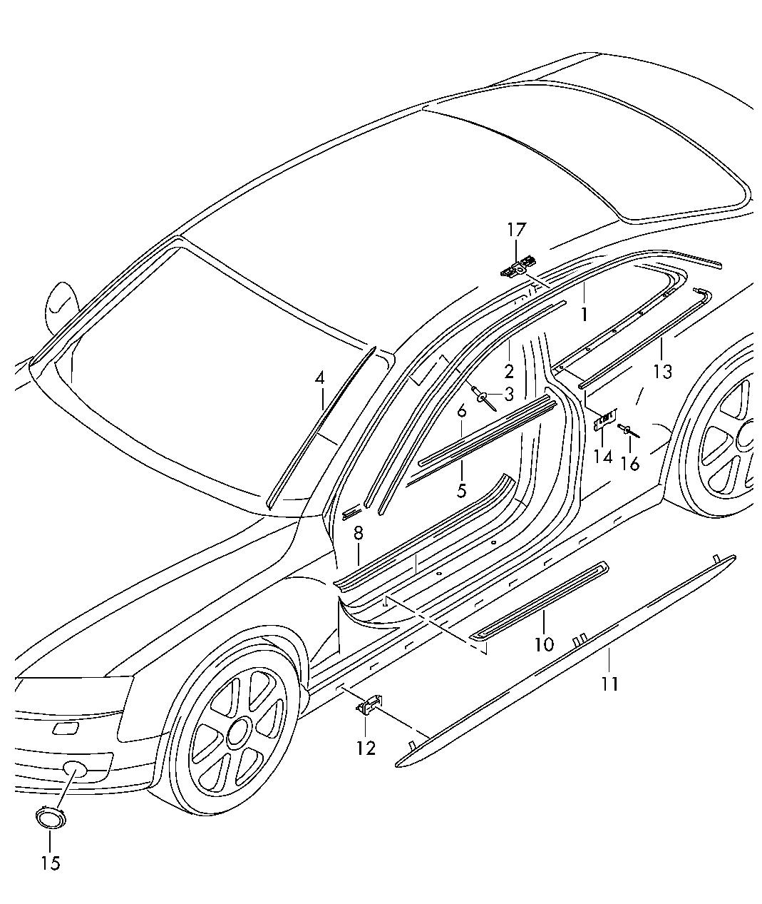 Запчасти Ауди А4 / С4. Каталог запчастей Audi A4/S4/Avant