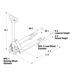 273445 pallet truck schematic drawing  [ 2337 x 1959 Pixel ]