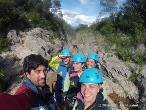 canyoning et via ferrata