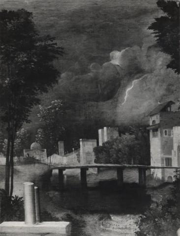 FONDAZIONE ZERI  CATALOGO  Giorgione Paesaggio con figure
