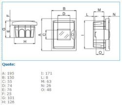 B05767 4 moduli INC Catalogo online Hager