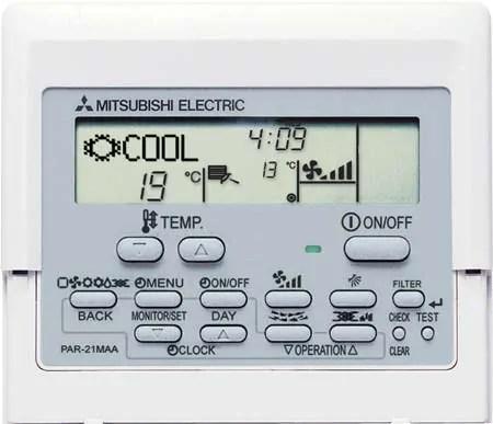 Ge Air Conditioner Wiring Diagram Manual De Intrucciones Del Control Par 21maa Mitsubishi