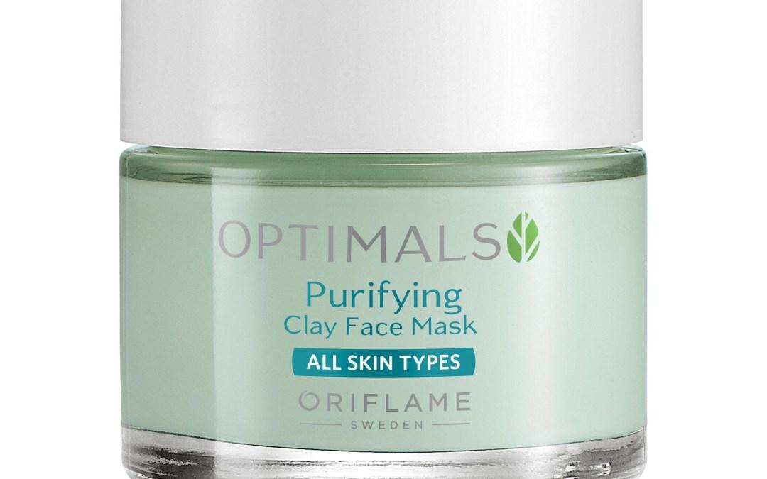 Mascarilla purificante de arcilla Optimals de Oriflame