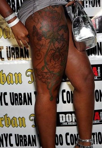 Fotos De Tatuajes Para Piel Morena O Trigueña De Mujer