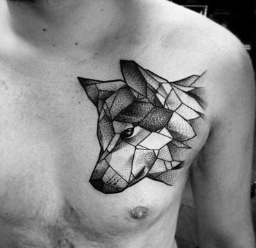 Los Nuevos Tatuajes Geometricos Para Hombres