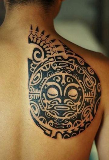 Permanencia De La Cultura En Tatuajes Tribales Aztecas
