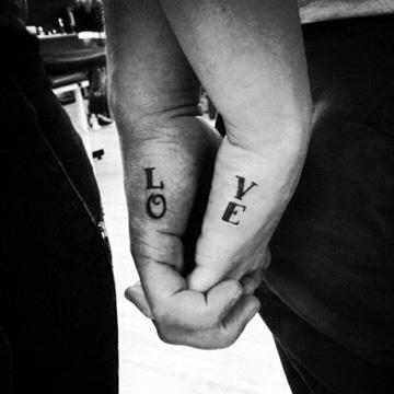 Romanticos Tatuajes Minimalistas Para Parejas Muy Originales