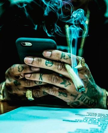 Algunos De Los Diseños De Los Tatuajes De Wiz Khalifa