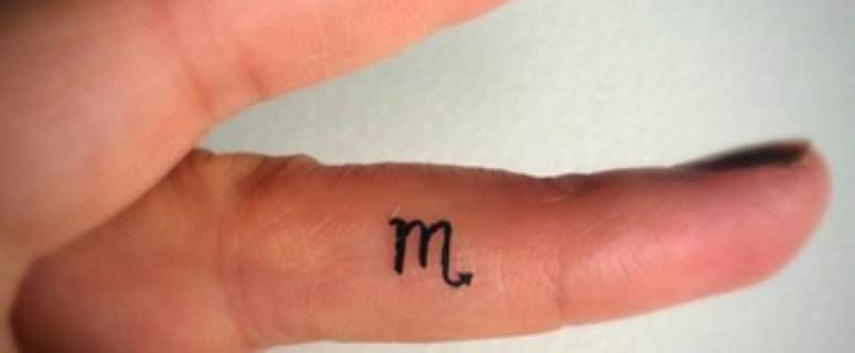 Simbolos Y Diseños De Tatuajes Del Signo Escorpio