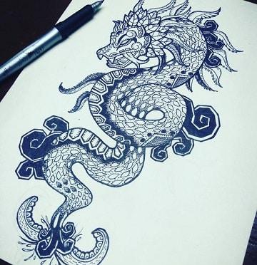 Bosquejos Y Dibujos De Quetzalcoatl Para Tatuar