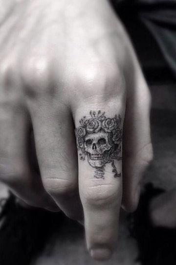 Increibles Diseños Y Tatuajes De Catrinas En La Mano