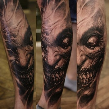 Asombrosos Y Realistas Tatuajes Diabolicos En El Brazo