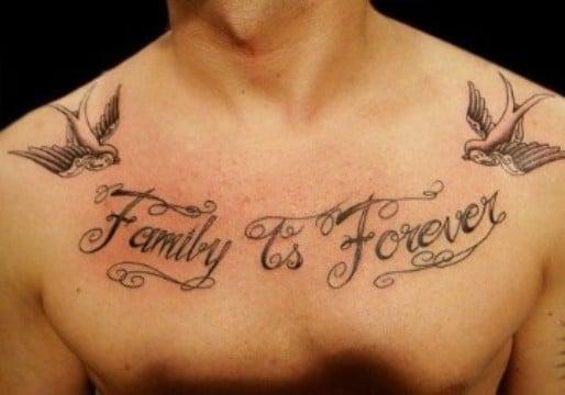 Algunos Diseños De Tatuajes De Familia Para Hombres