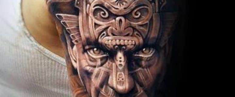 Diseños De Tatuajes Aztecas Y Mayas En El Brazo