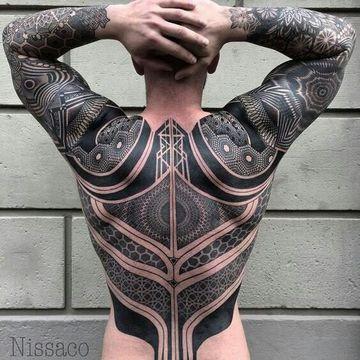 Extraordinarios Tatuajes Grandes En La Espalda