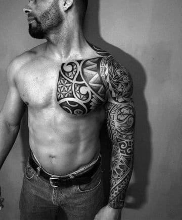 Diseños Tribales De Tatuajes Hawaianos Para Hombres