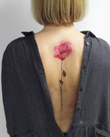 Hermosos Y Grandiosos Tatuajes De Acuarela Para Mujer