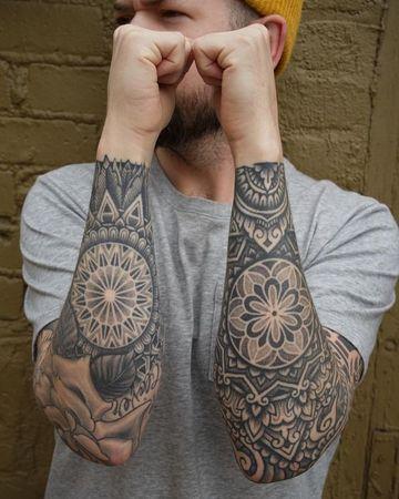 Diversos Diseños De Tatuajes De Mandalas Para Hombres