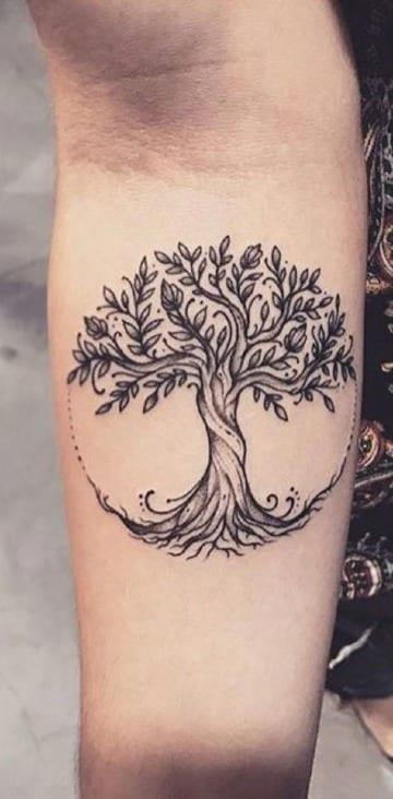 Algunos De Los Mejores Tatuajes Del Arbol De La Vida
