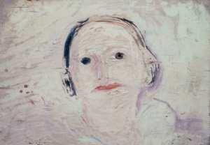 Bozzetto ritratto moglie