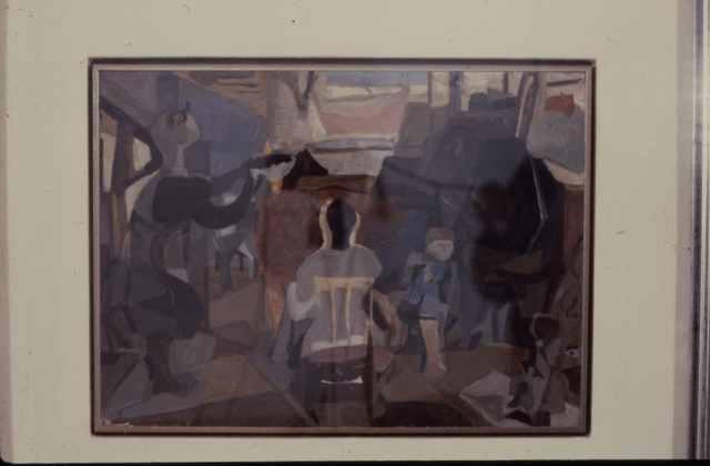 Bozzetto del dipinto
