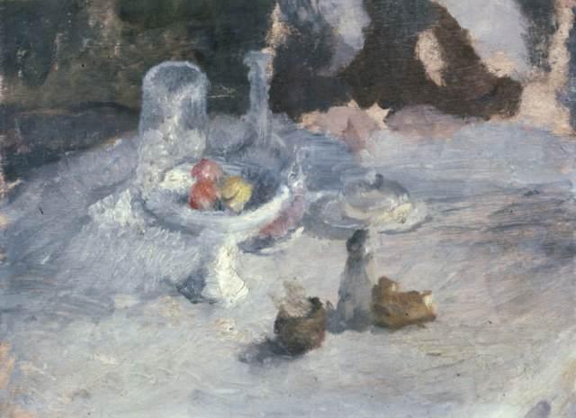 Natura morta con la fruttiera