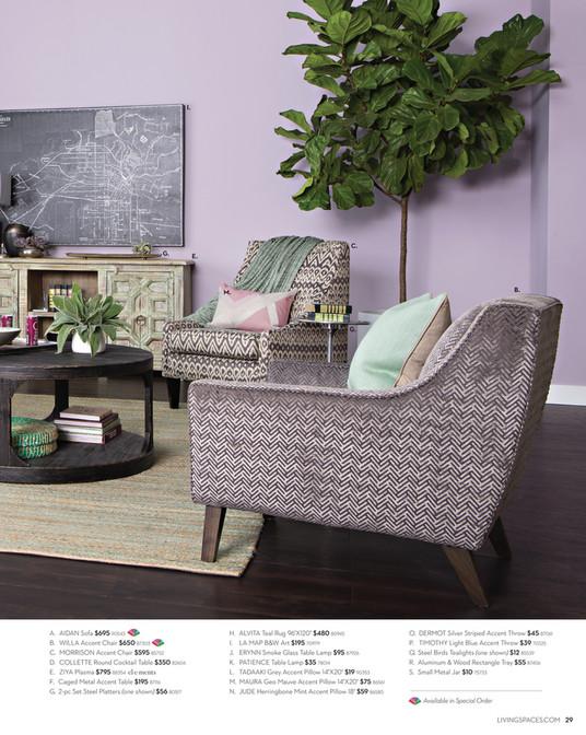 hd designs morrison accent chair cracker barrel rocking living spaces product catalog february 2016 throw susie i p s g c e b m a aidan sofa 695 90543 willa 650 87303