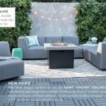 Living Spaces Outdoor 2018 95x130 Outdoor Rug Baltic
