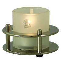 Tealight lamp - polished stainless stee - AzurInoxMarine
