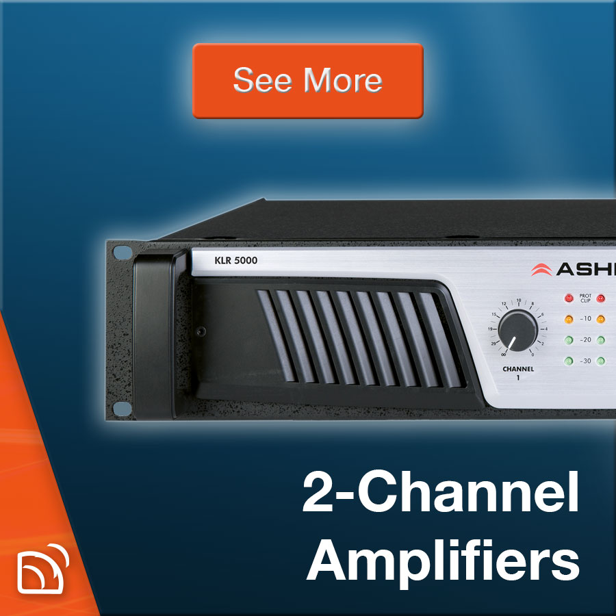 2-Channel Amplifiers