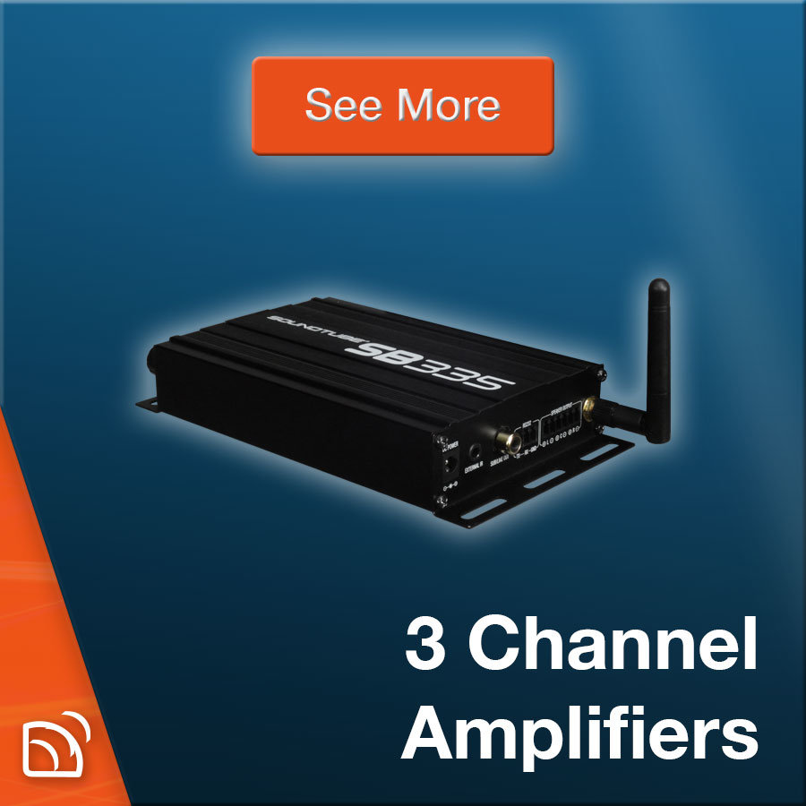 3-Channel Amplifiers