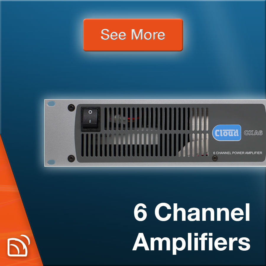 6-Channel Amplifiers
