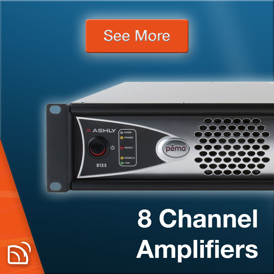 8-Channel Amplifiers