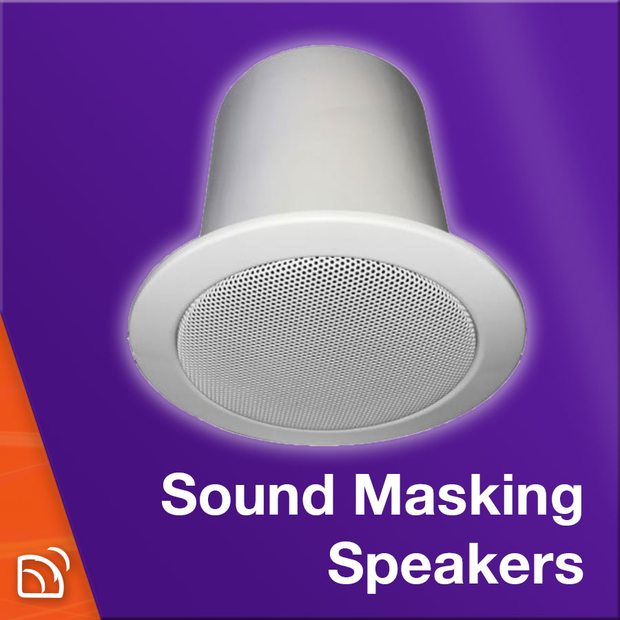 Sound Masking Speakers
