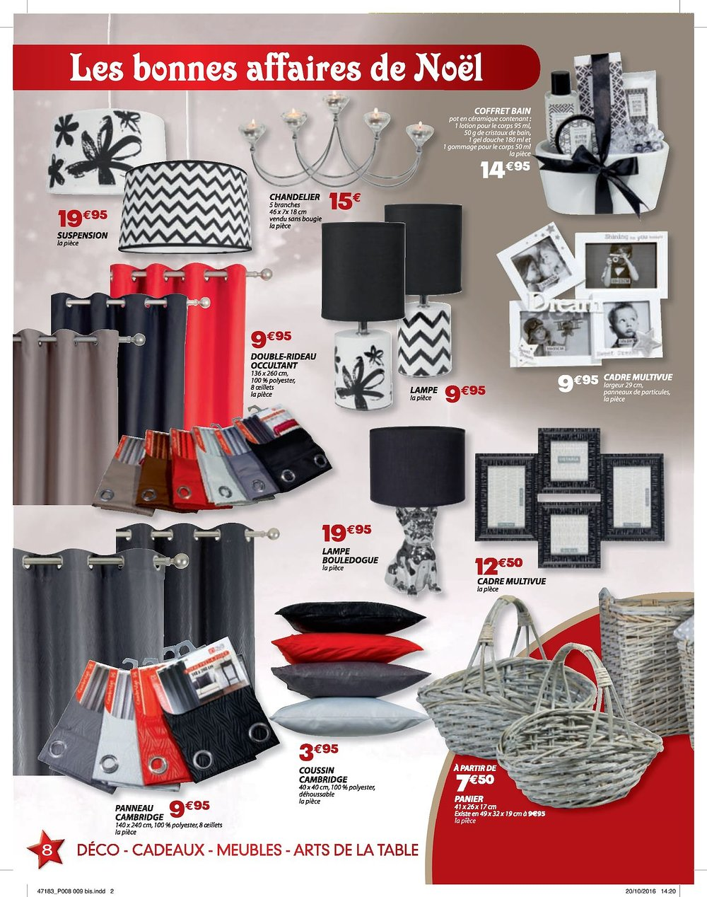 catalogue dya shopping noel 2016