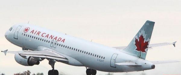 طائرة كندية تحلق في سماء مدريد لما يزيد على ثلاث ساعات.
