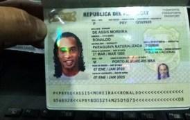 اعتقال رونالدينو نجم الكرة البرازيلية ونادي برشلونة الإسباني السابق في الباراغواي.