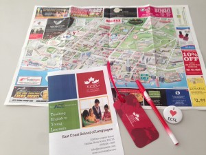 2014 ECSL original goods and map