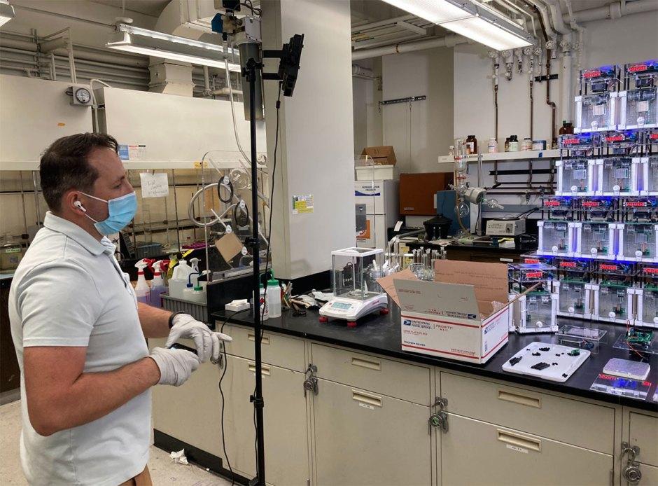 Research scientist Emmanuel Druga