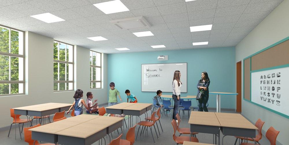 Catalyst Academy classroom