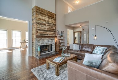 Newest Listing in Smyrna: Wood with a rustic + reclaimed hint