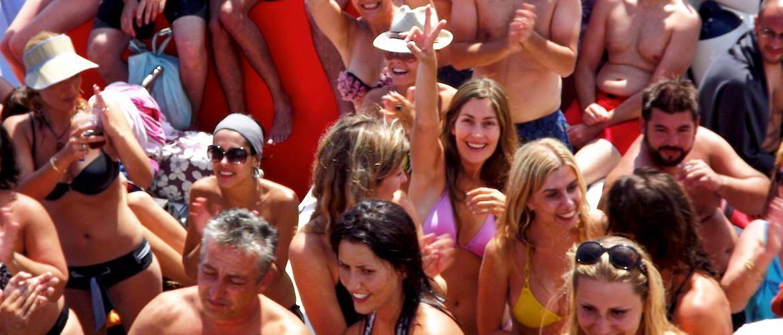 Fiesta catamaran Platja d'Aro